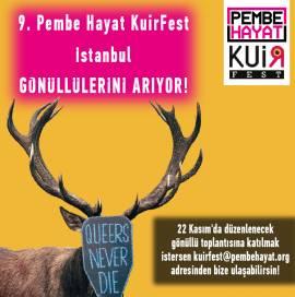 Pembe Hayat KuirFest İstanbul gönüllülerini arıyor!