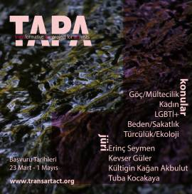 TAPA- Transformative Art Project for Activists'ten açık çağrı!