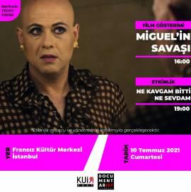 'Miguel'in Savaşı' KuirFest ve Documentarist Ortaklığında FKM'de!
