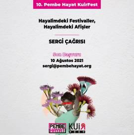 10. KuirFest, 'Hayalimdeki Festivaller, Hayalimdeki Afişler' Sergi Çağrısı