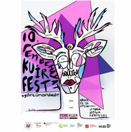 10. Pembe Hayat KuirFest afişi yayında!